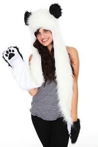 long panda hat