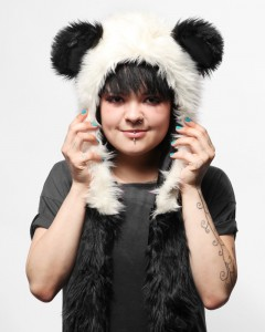 panda hat with ear flaps3