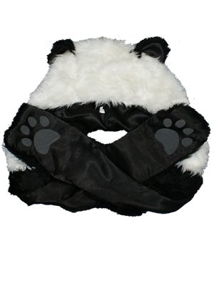 panda hat with paws
